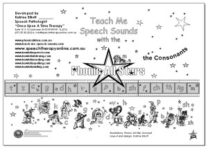 Teach Me Speech Sounds Front page